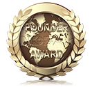 The Founder Award is awarded to those members who helped establish NDB Air in 2013.